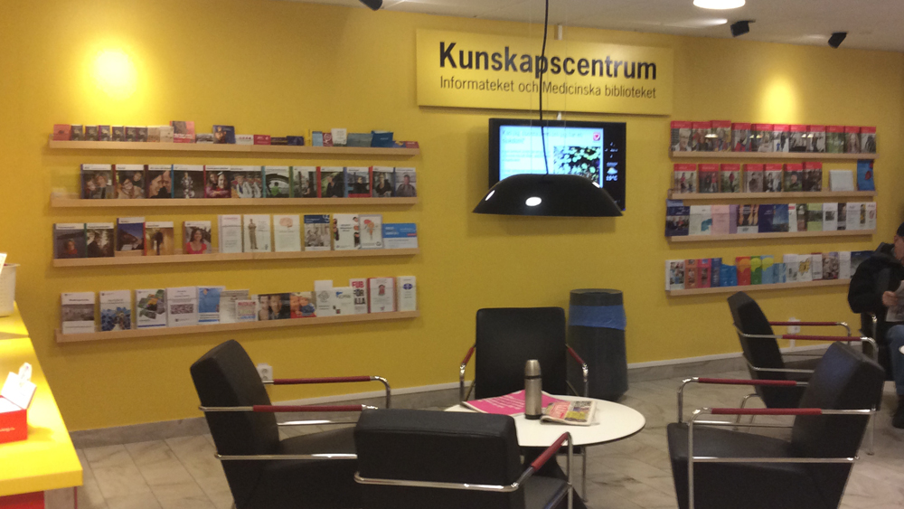 Front, magazine display, Karl Andersson & Söner