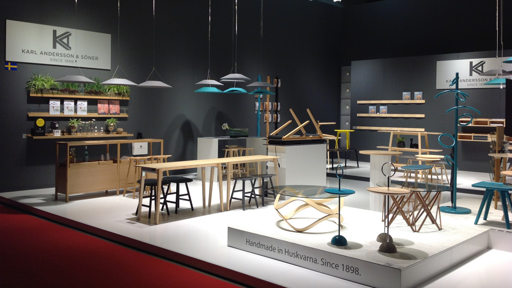 Karl andersson thanks for your visit for Salone del mobile 2016 date