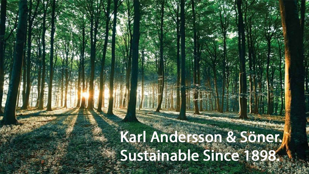 Karl Andersson Söner Sustainable Since 1898