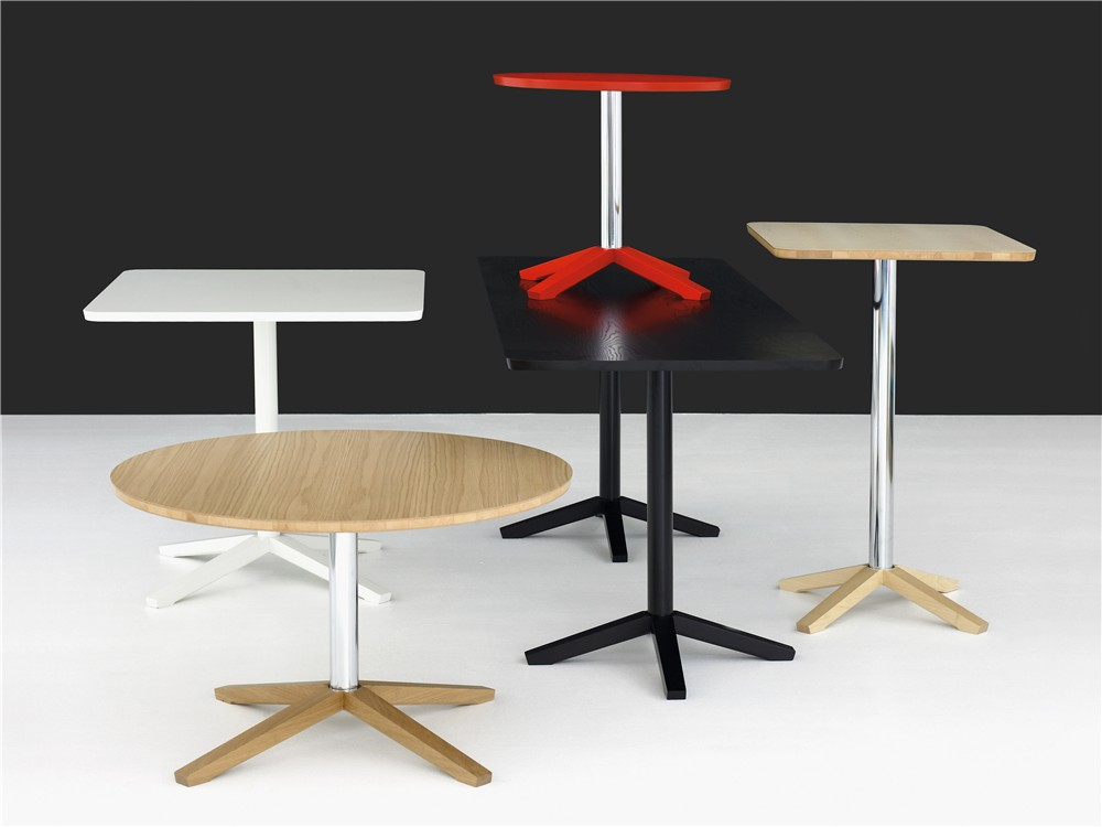 Cross, pedestal table, wood, table, Karl Andersson & Söner