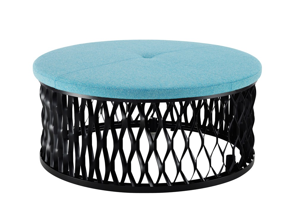 Steelo, stool, ottoman, extruded metal, Karl Andersson & Söner