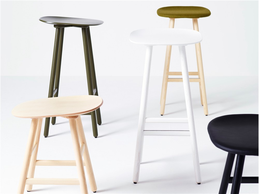 Shell, stool, wood, Karl Andersson & Söner