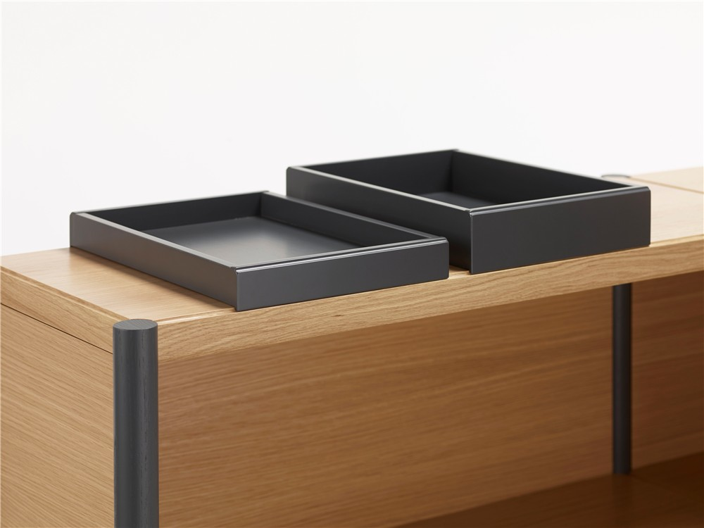 Cavetto, shelf, room divider, shelf without back, storage, cabinet, Karl Andersson & Söner