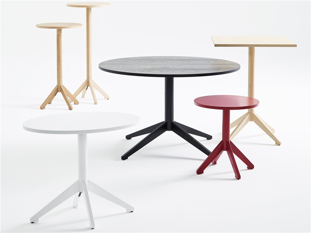 Locus, pedestal table, wood, Karl Andersson Söner