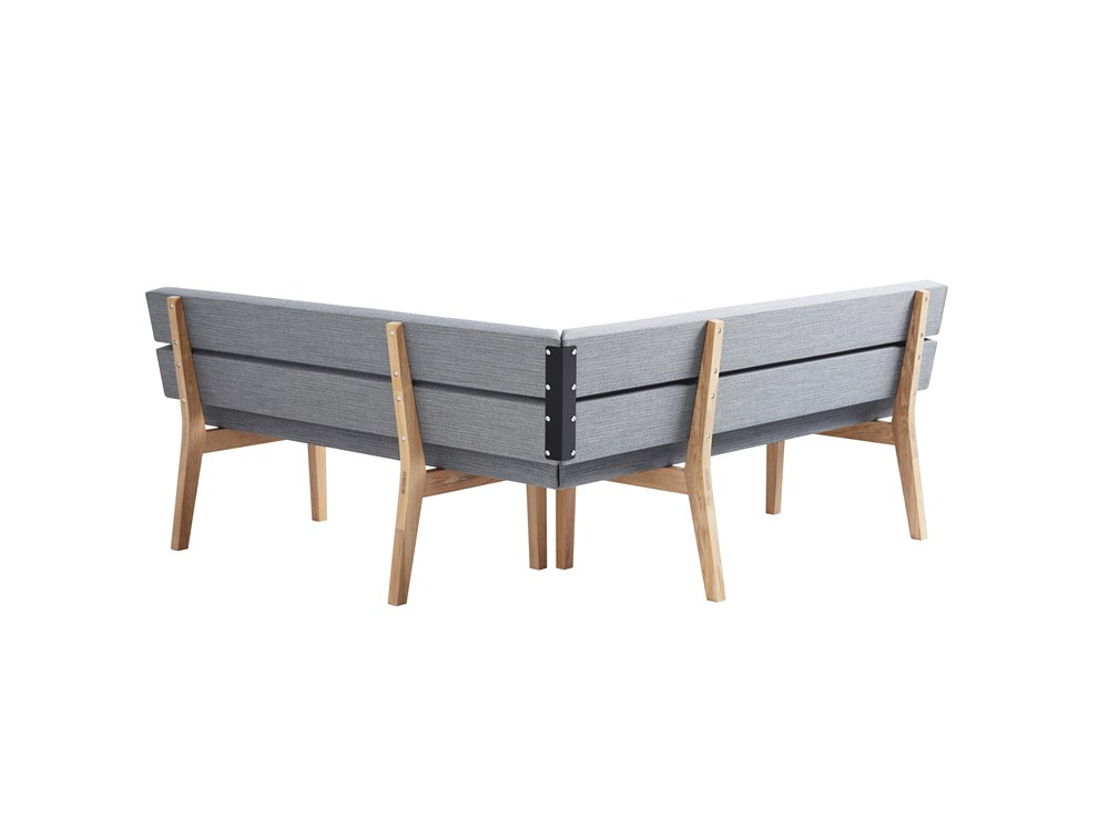 Kamon sofa, easy chair, bench, wood, Karl Andersson Söner