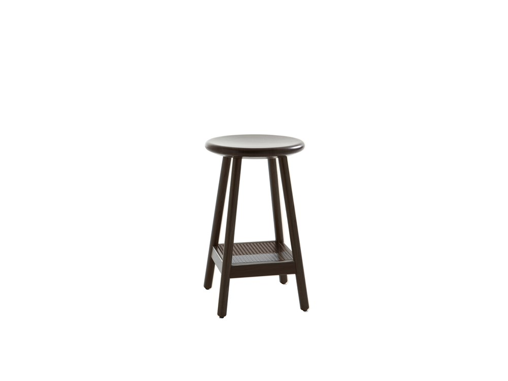 Milo stool incl. back upholstred seat pad Karl Andersson Söner